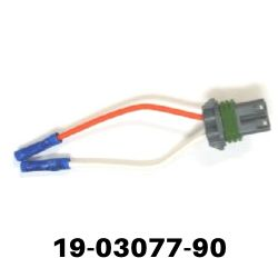 Show product details for AMP Research Pig Tail Siemens Motor (19-03077-90)
