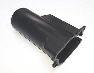 AMP Research Motor Cover CRH, Black Plastic