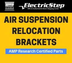 Air Suspension Relocation Brackets