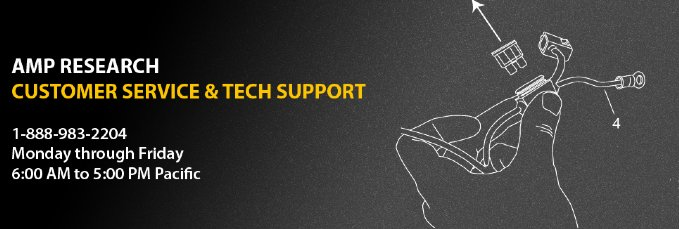 AMP Research Technical Support