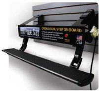 Show product details for AMP Research PowerStep Wall Mounted Display