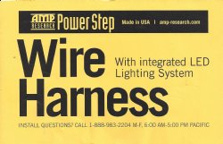 Show product details for Wire Harness with Integrated Lighting System