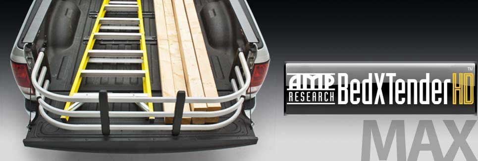 AMP Research BedXTender is an extension to your truck bed and offers exactly what the prodcut is called, a Bed Extnder. This BedXtender is great for hauling heavy duty large items.