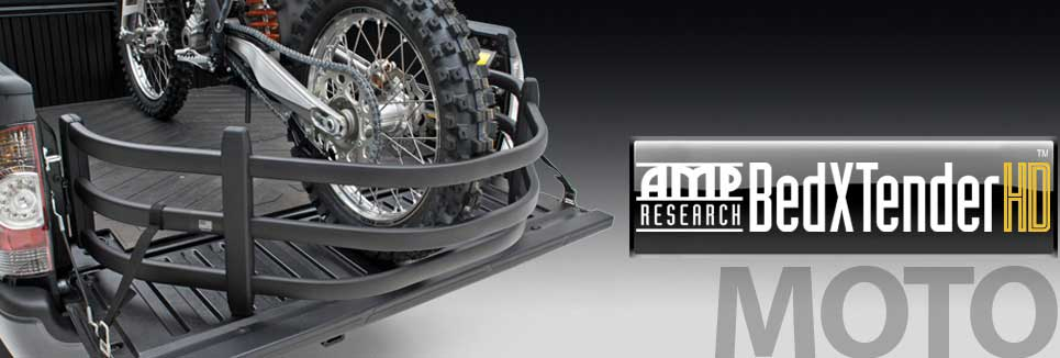AMP Research BedXTender HD Moto is perfect for those weekenders that love to get away an go ridding, (hence MOTO extender).